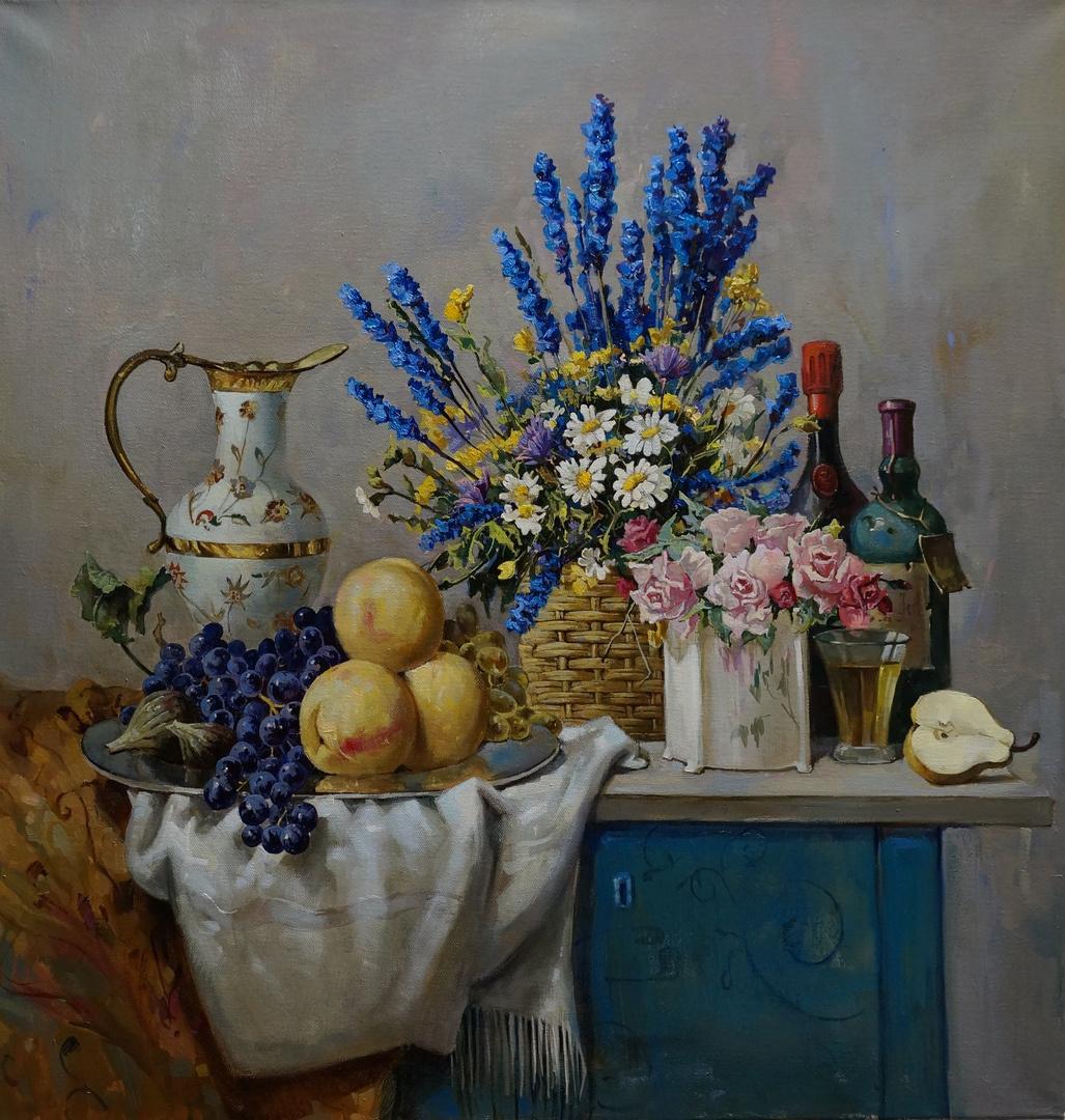 Natalia Trufanova. The flowers