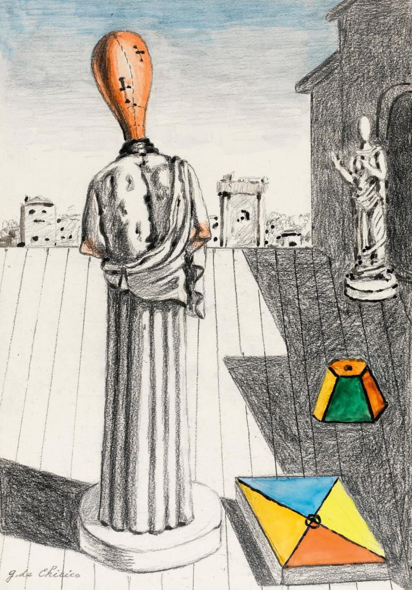Джорджо де Кирико. Беспокойная Муза