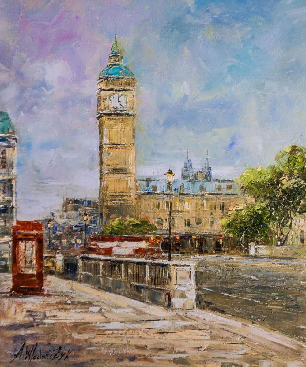 Andrzej Vlodarczyk. London. Big Ben view