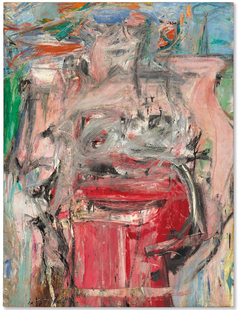 Willem de Kooning. Woman as Landscape