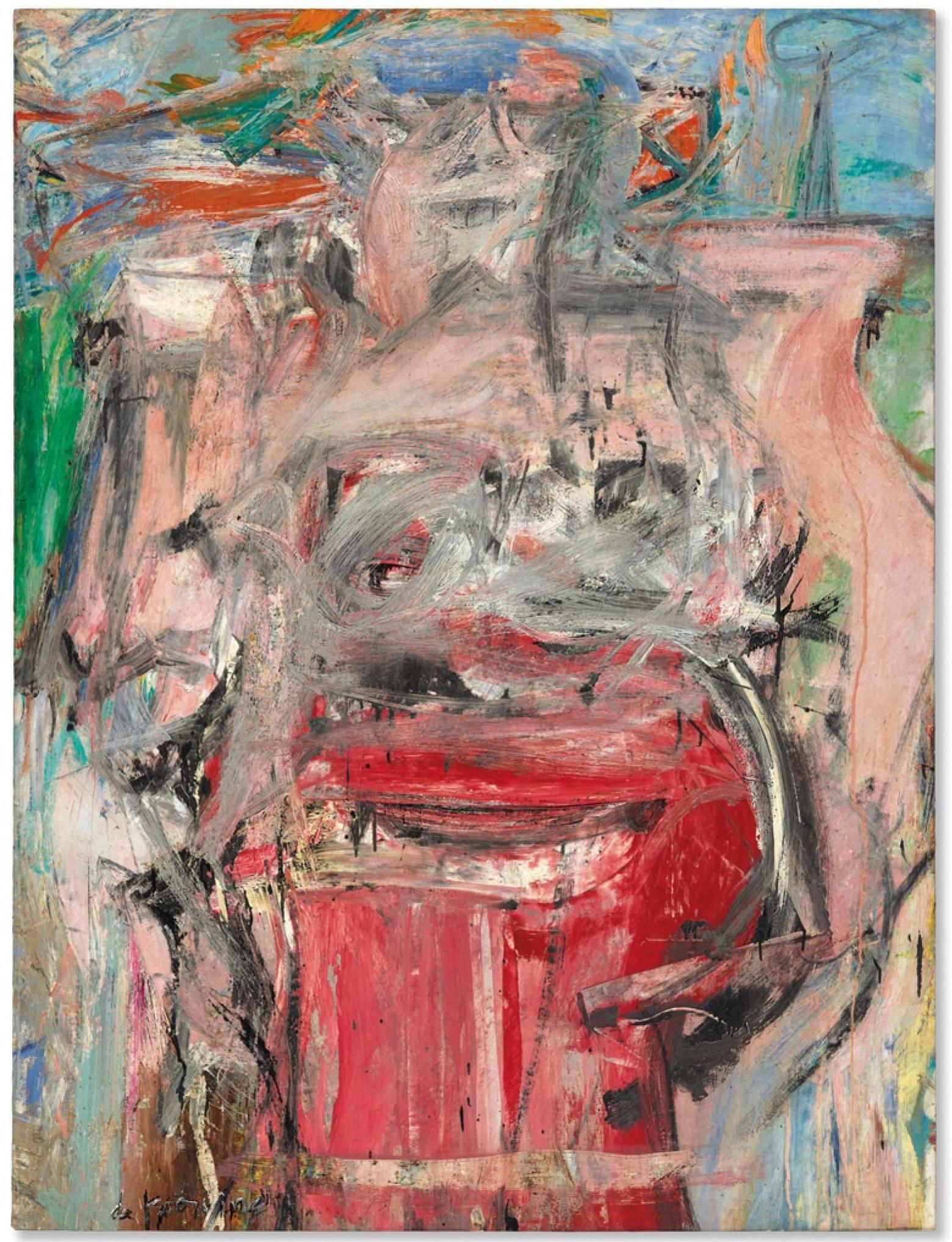 Willem de Kuning. Woman as Landscape