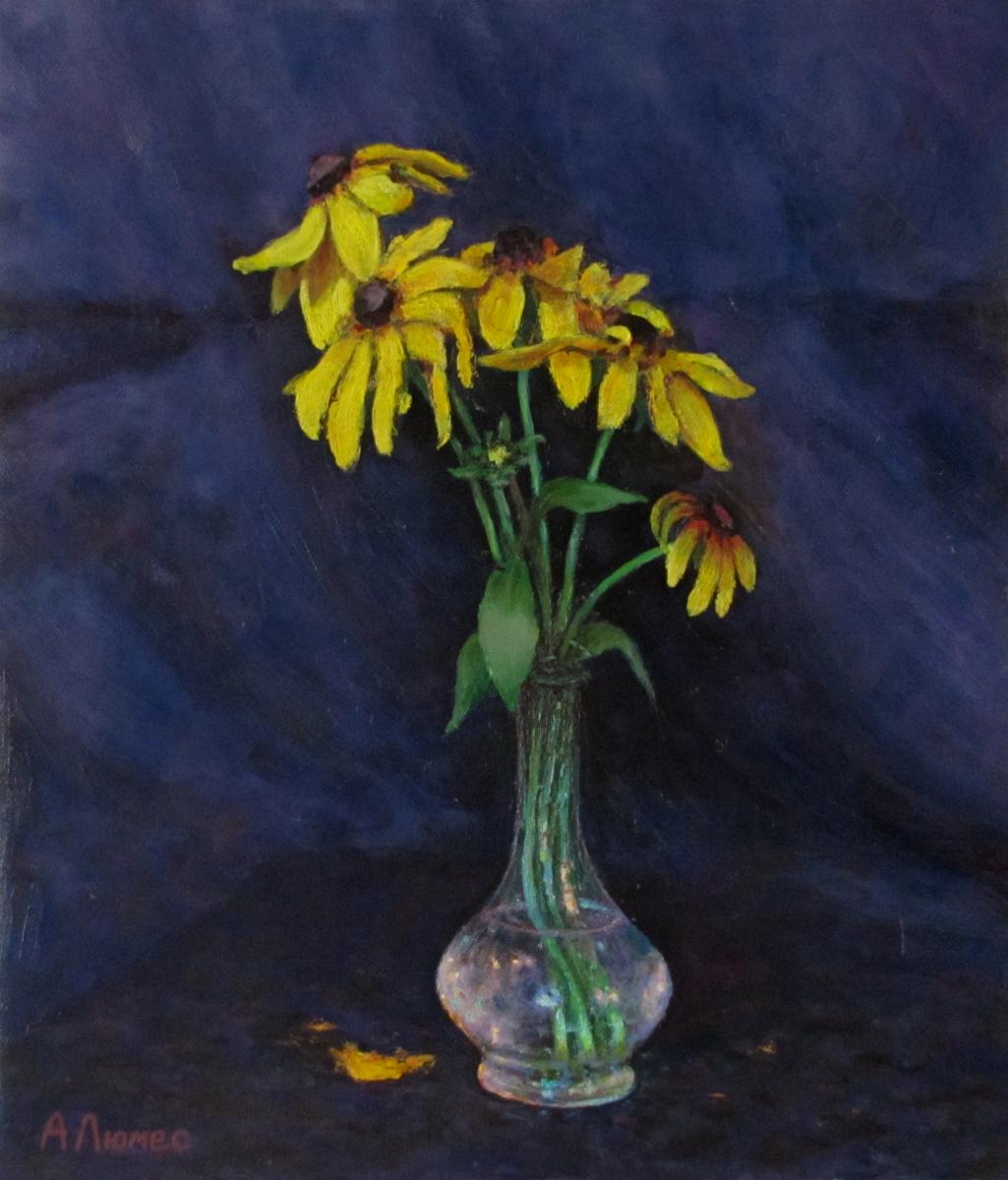 Andrew Lumez. Yellow flower