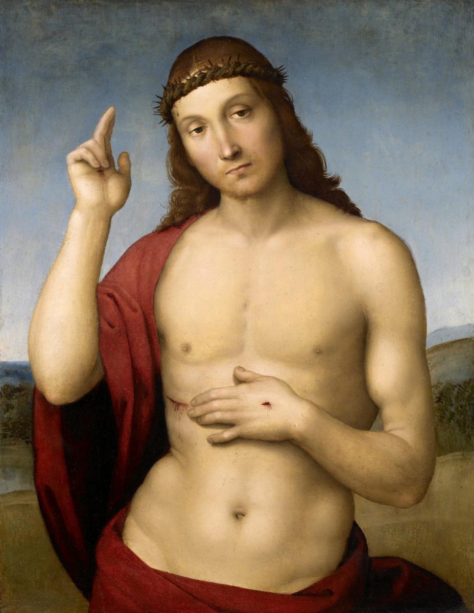 Рафаэль Санти. Благословляющий Христос