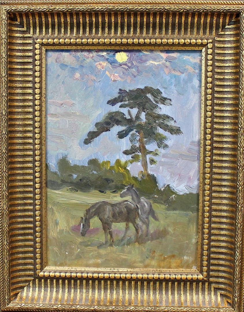 Orest Georgievich Betekhtin. Two horses