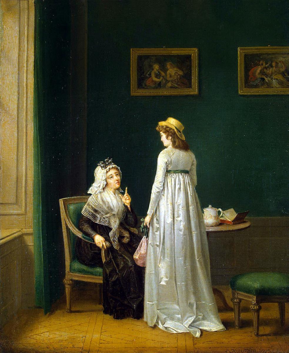Пер Старший Хиллестрем. Материнское наставление