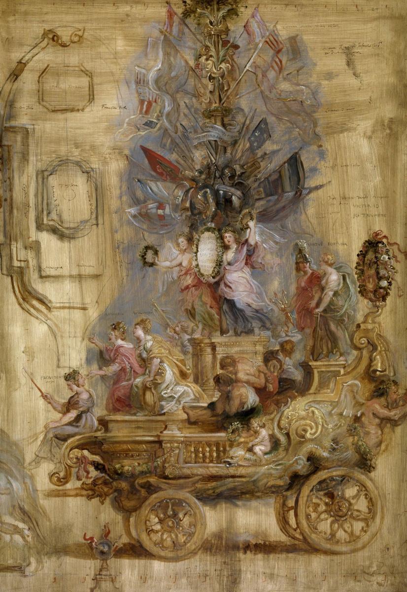 Питер Пауль Рубенс. Триумфальная колесница в честь победы в Калло