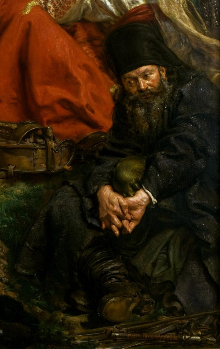 Ян Матейко. Вернигора. Фрагмент III