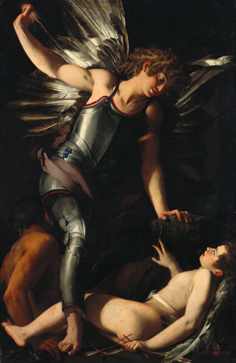 Джованни Бальоне (Баглионе). Божественный Эрос побеждает Земного Эроса