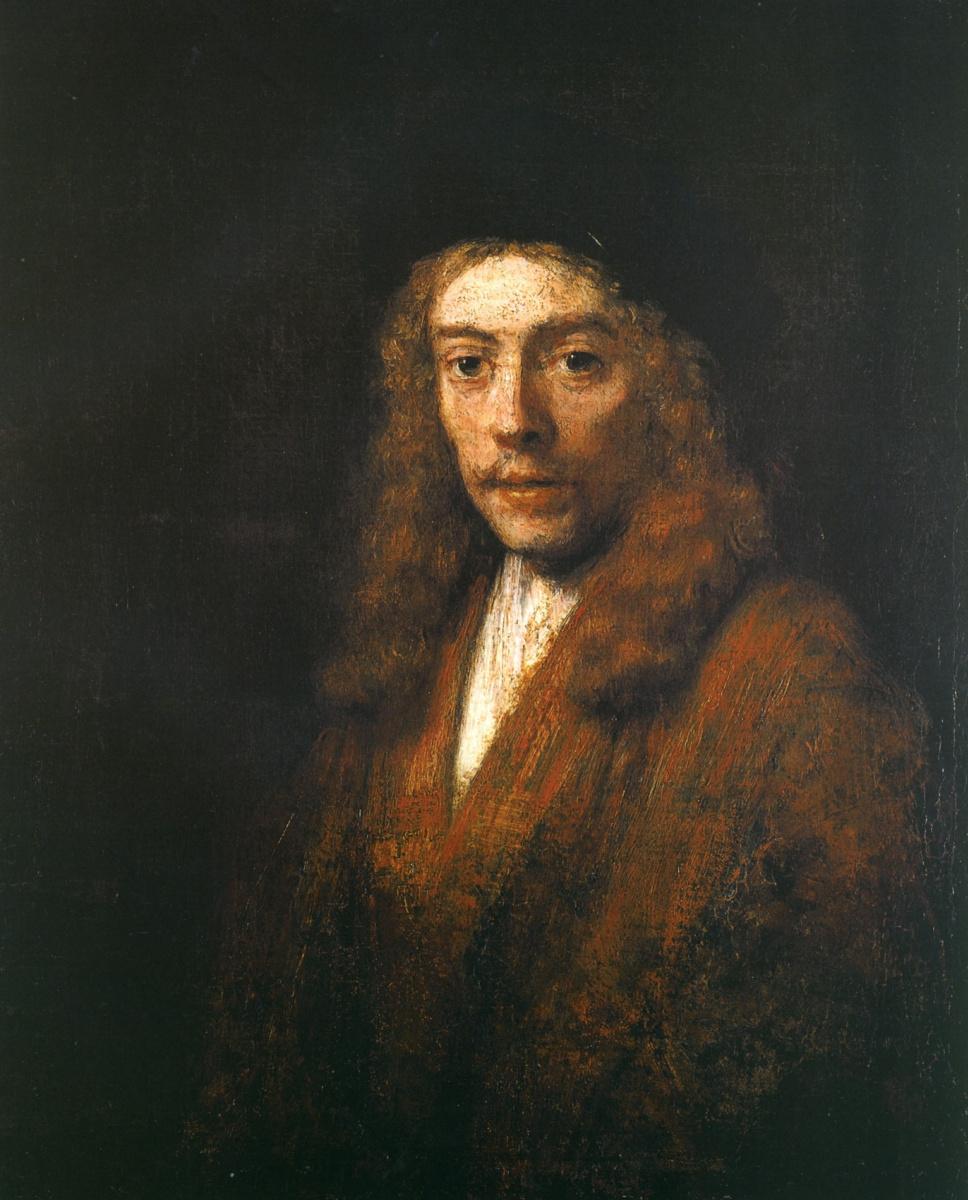 Рембрандт Ван Рейн. Портрет молодого человека (вероятно, Титуса, сына художника)