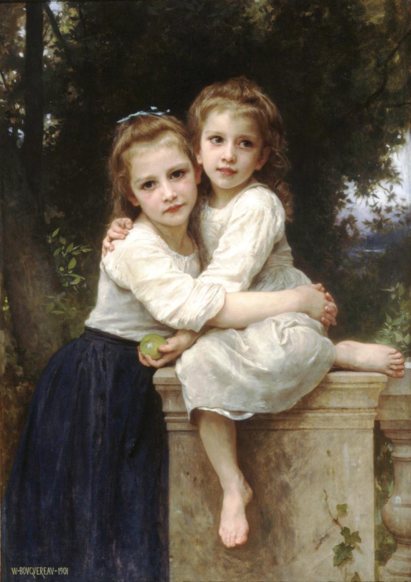 Адольф Вильям Бугро. Две сестры