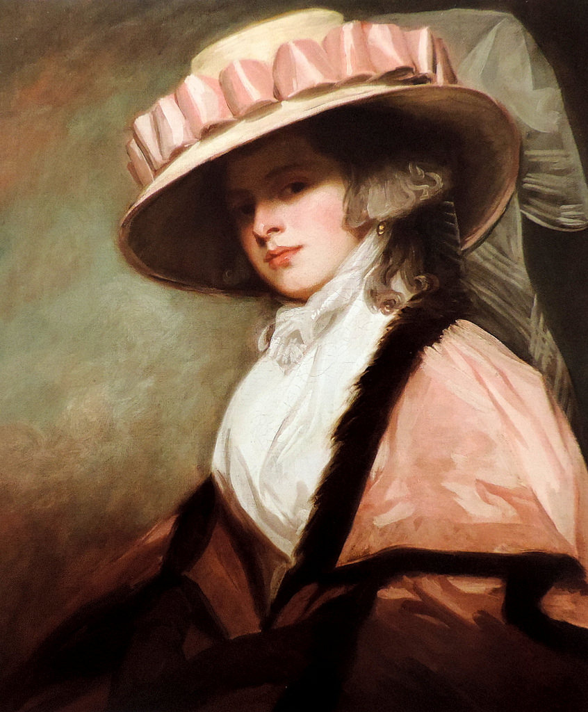 George Romney. Catherine (Bruncker) Adie, later Katherine Willett