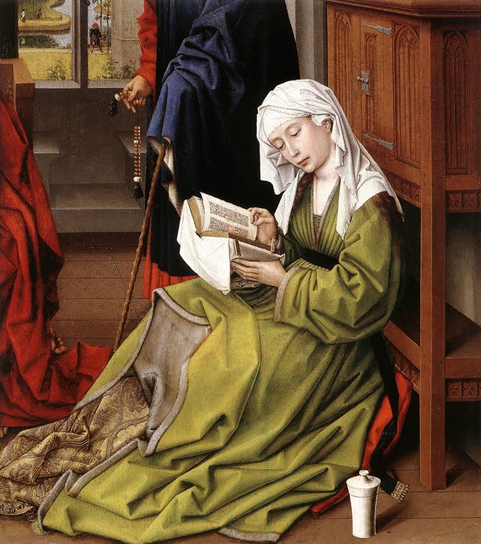Рогир ван дер Вейден. Чтение Магдалины