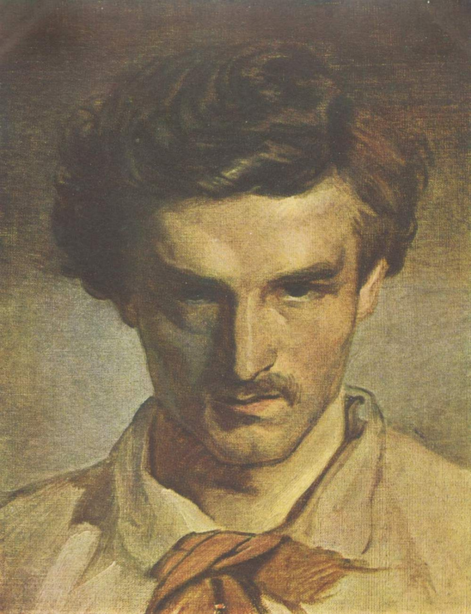 Ансельм Фридрих Фейербах. Автопортрет