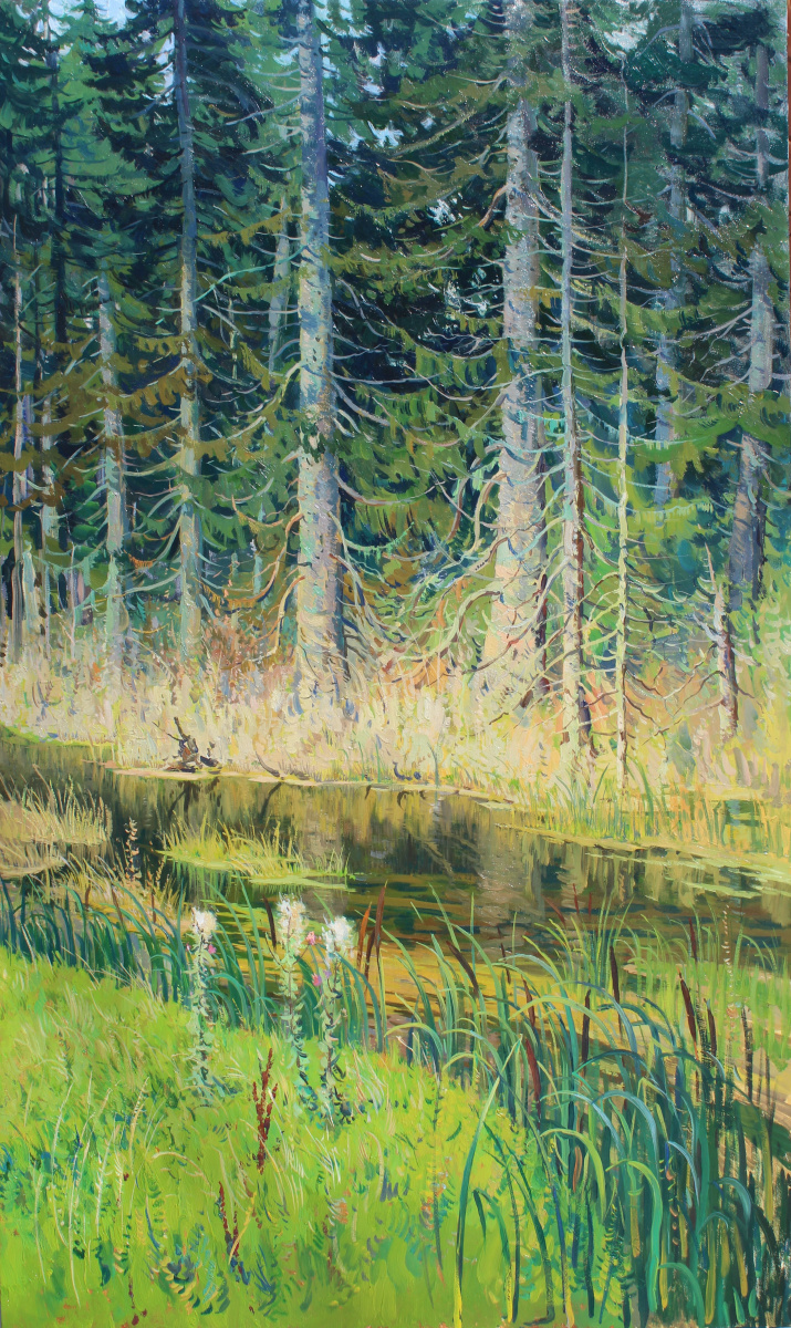 Евгений Буч. Вечер в лесу