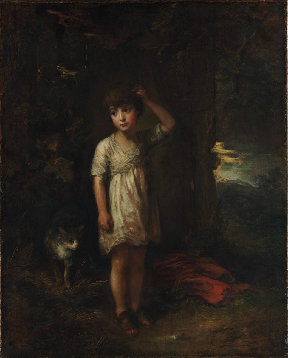 Thomas Gainsborough. Morning. Boy with cat