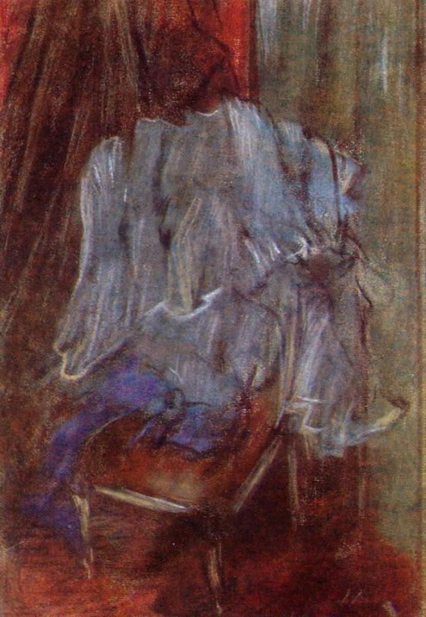 Эдгар Дега. Одежда на стуле