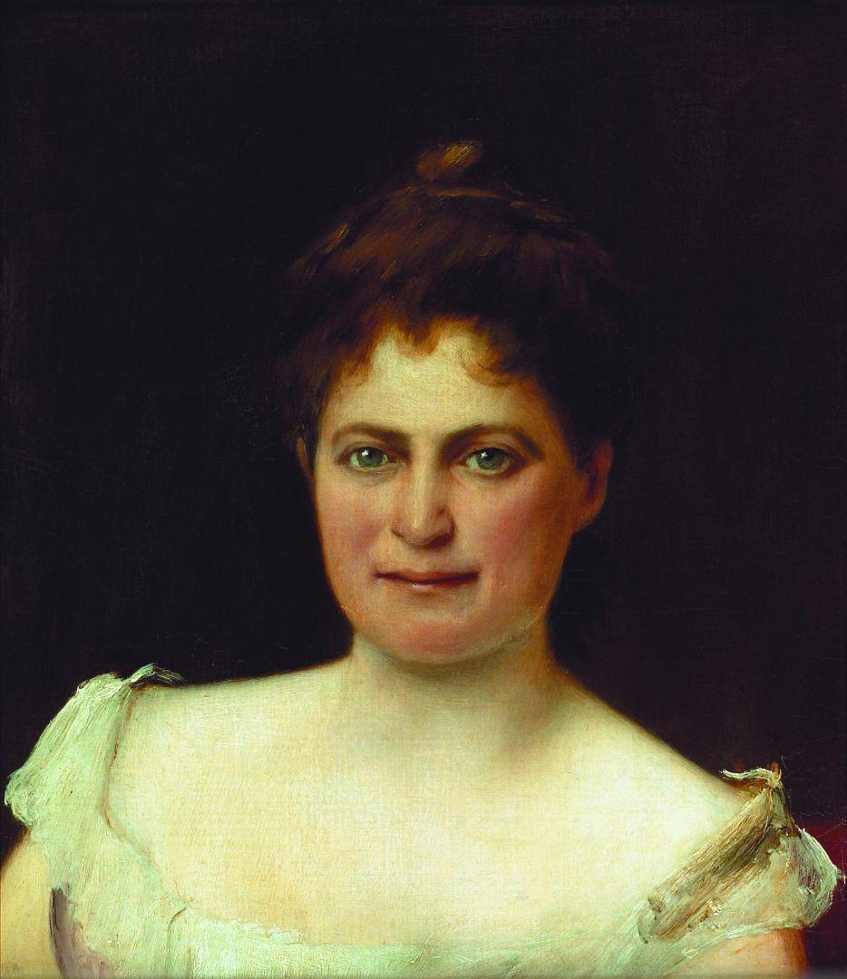 Михай Либ Мункачи. Портрет женщины
