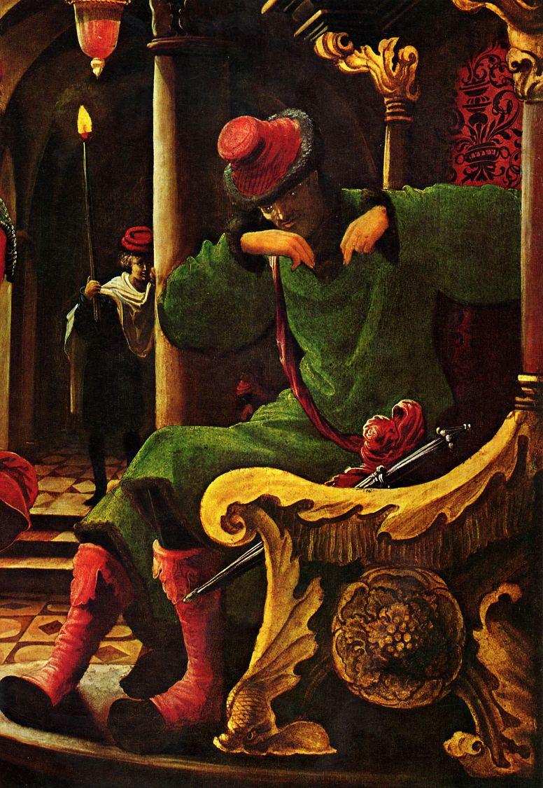 Альбрехт Альтдорфер. Алтарь св. Себастьяна духовного училища августинских каноников св. Флориана близ Линца, правая внутренняя створка с изображением