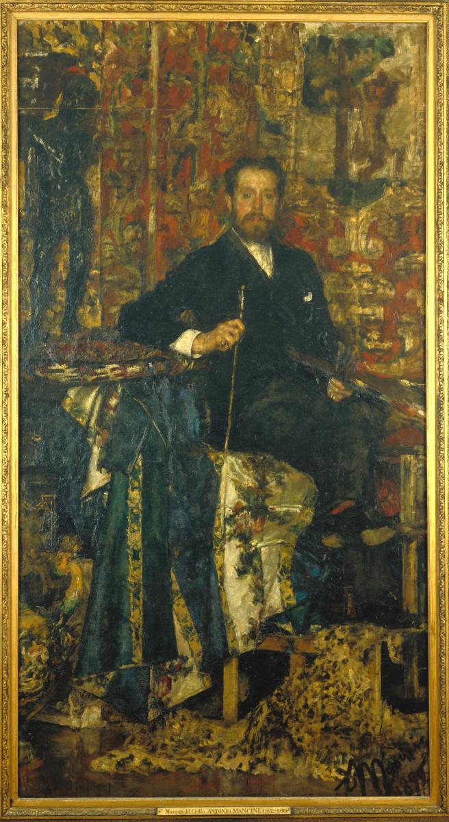 Антонио Манчини. Маркиз дель Грилло