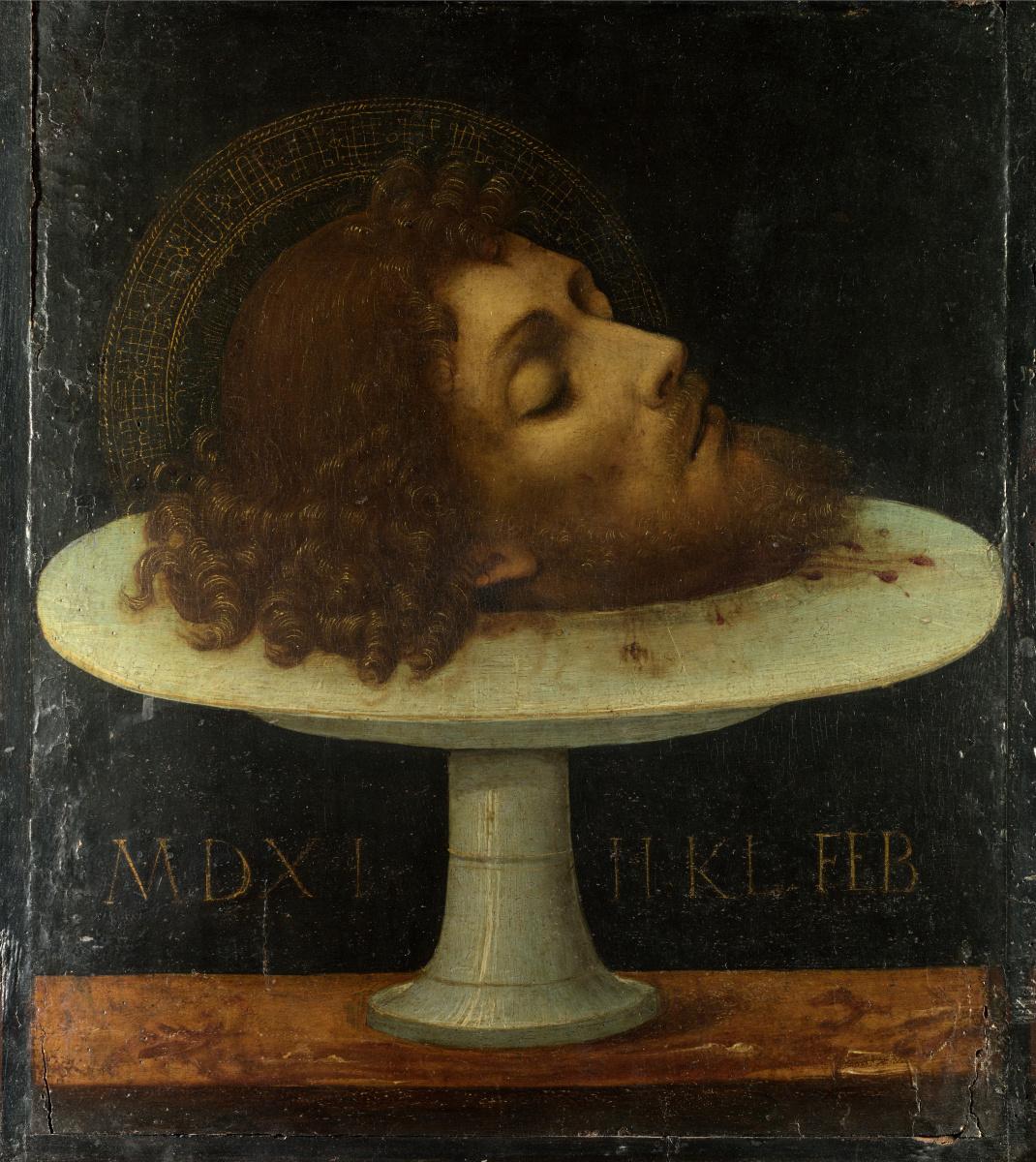 Итальянский. Голова Святого Иоанна Крестителя