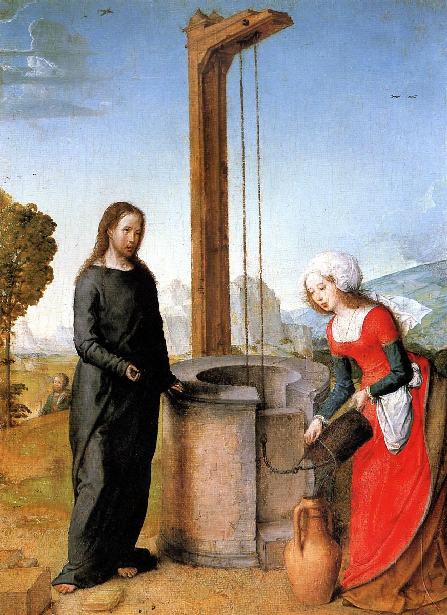 Фландрский Хуан. Христос и самарянка