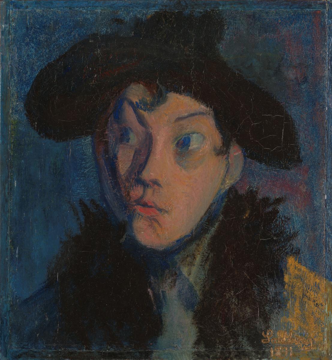 Harald Oskar Sohlberg. Portrait of Eugene