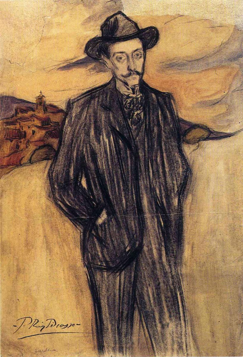 Пабло Пикассо. Джентльмен в шляпе
