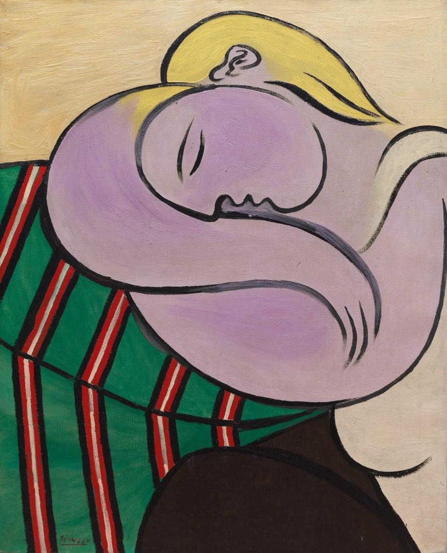 Пабло Пикассо. Женщина со светлыми волосами