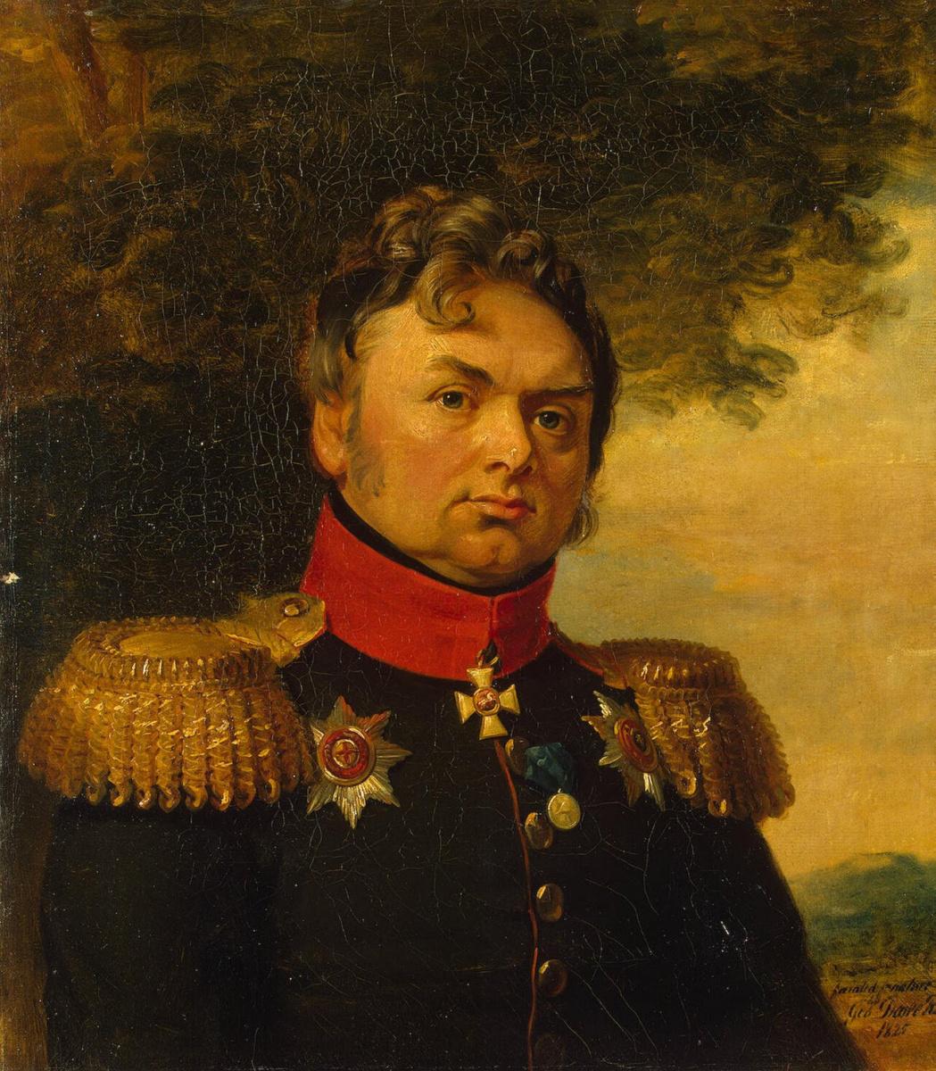 George Dow. Portrait of Pavel Nikolaevich Choglokov