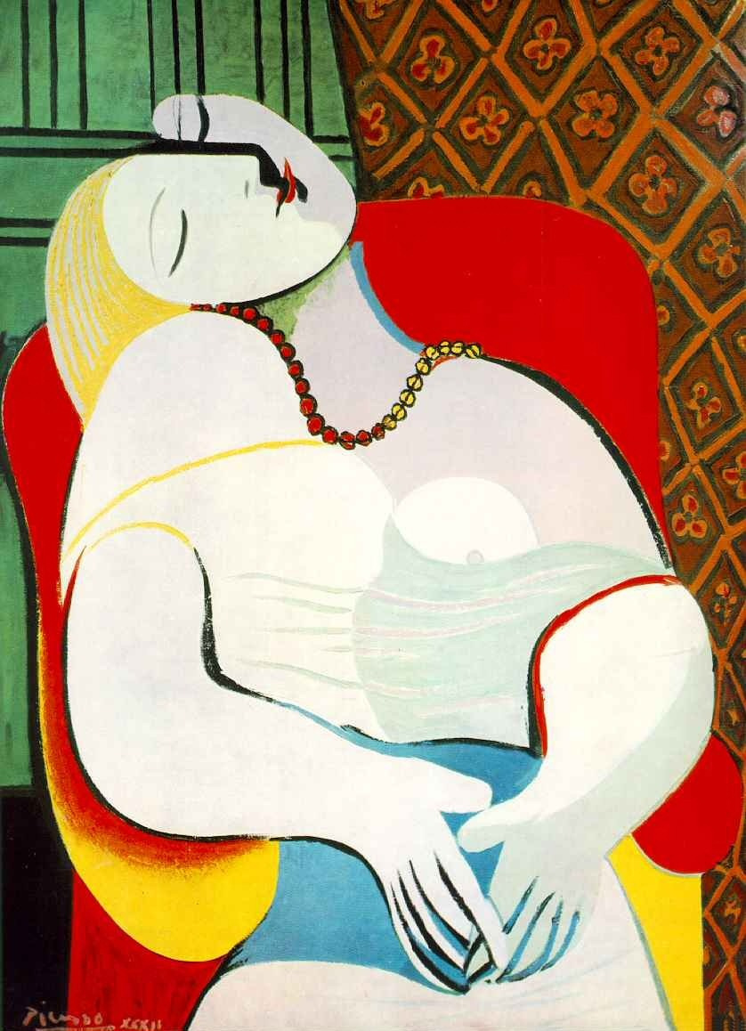 Pablo Picasso. Sleep. Marie-Therese Walter