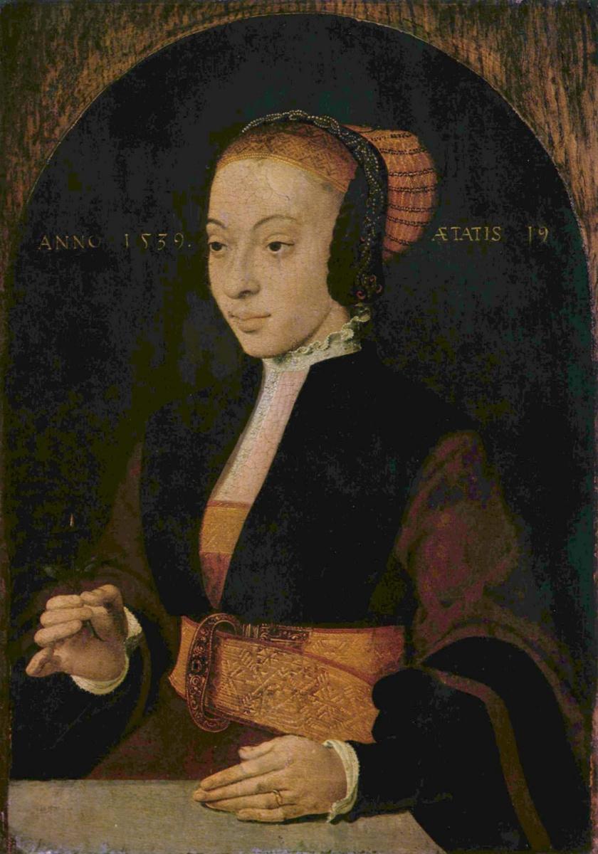Бартоломеус Брейн. Портрет молодой женщины