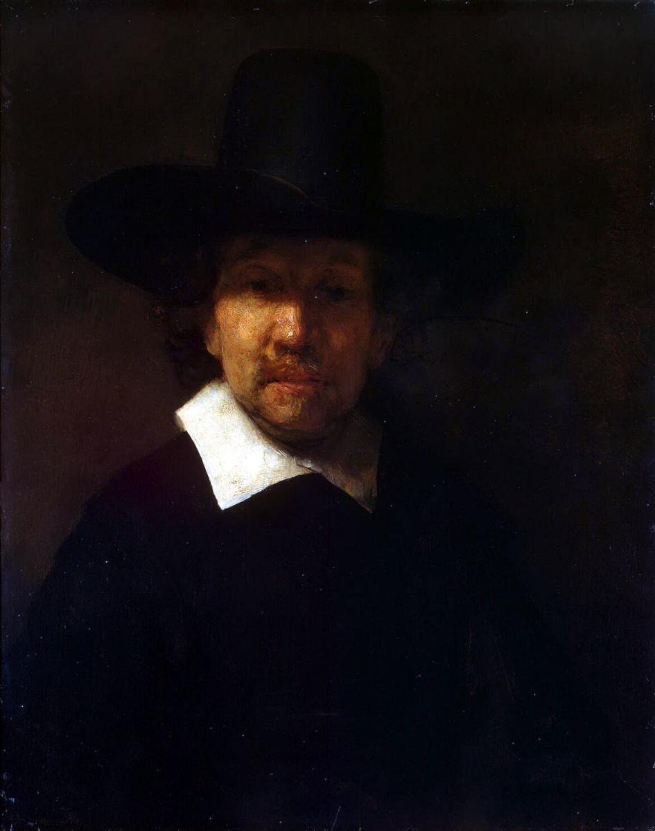 Рембрандт Ван Рейн. Портрет поэта Иеремиаса де Деккера