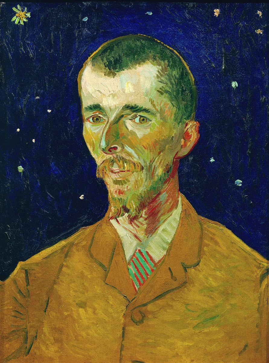 Винсент Ван Гог. Портрет Эжена Боша