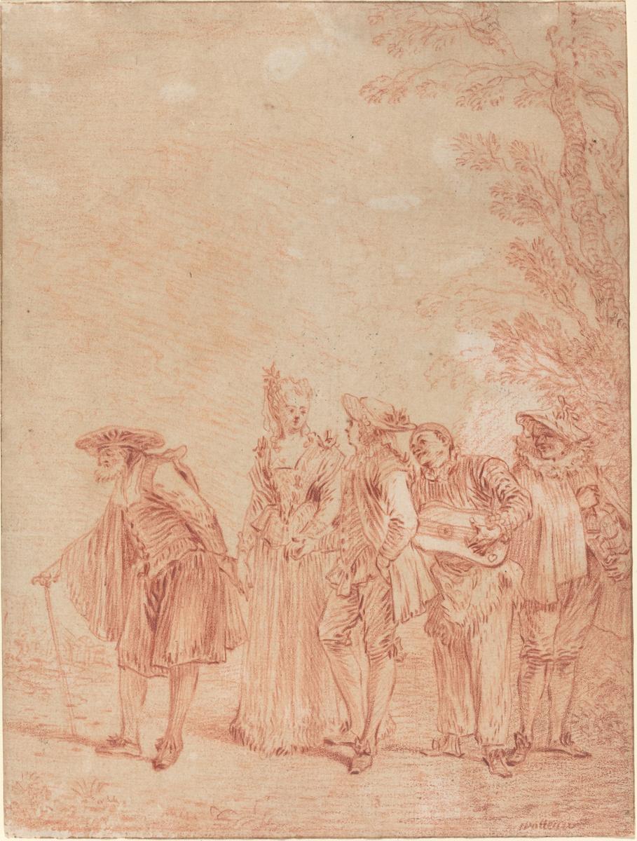 Антуан Ватто. Свадебное шествие