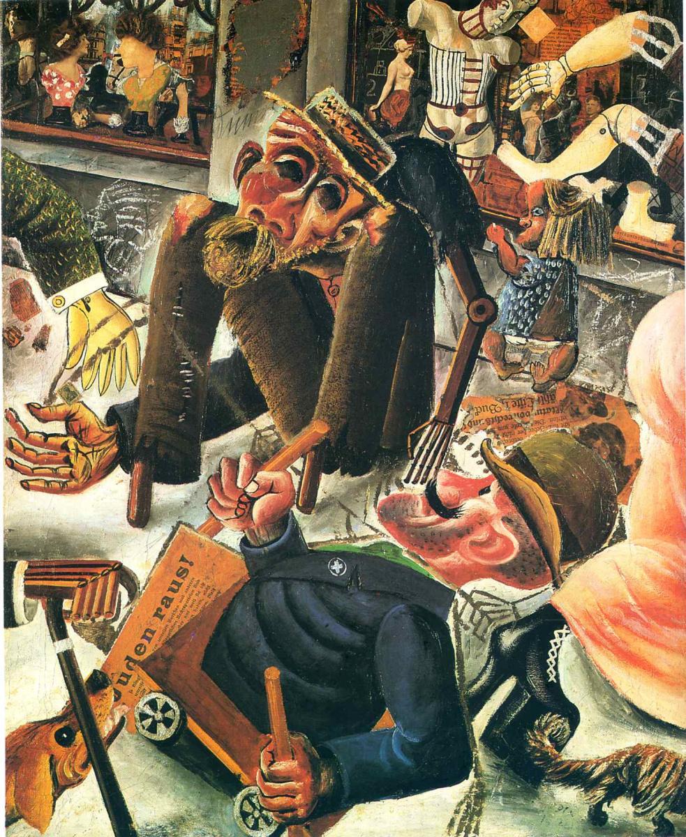 Otto Dix. Pragerstrasse Dresden