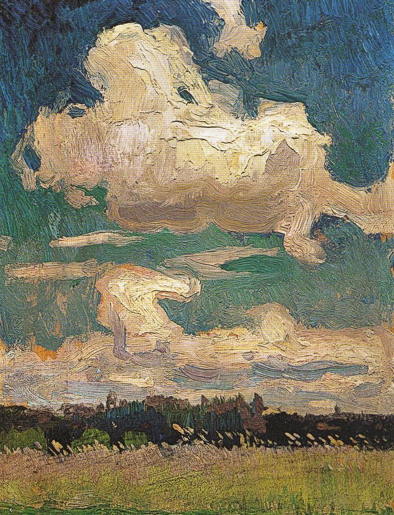 Jan Stanislavsky. Clouds