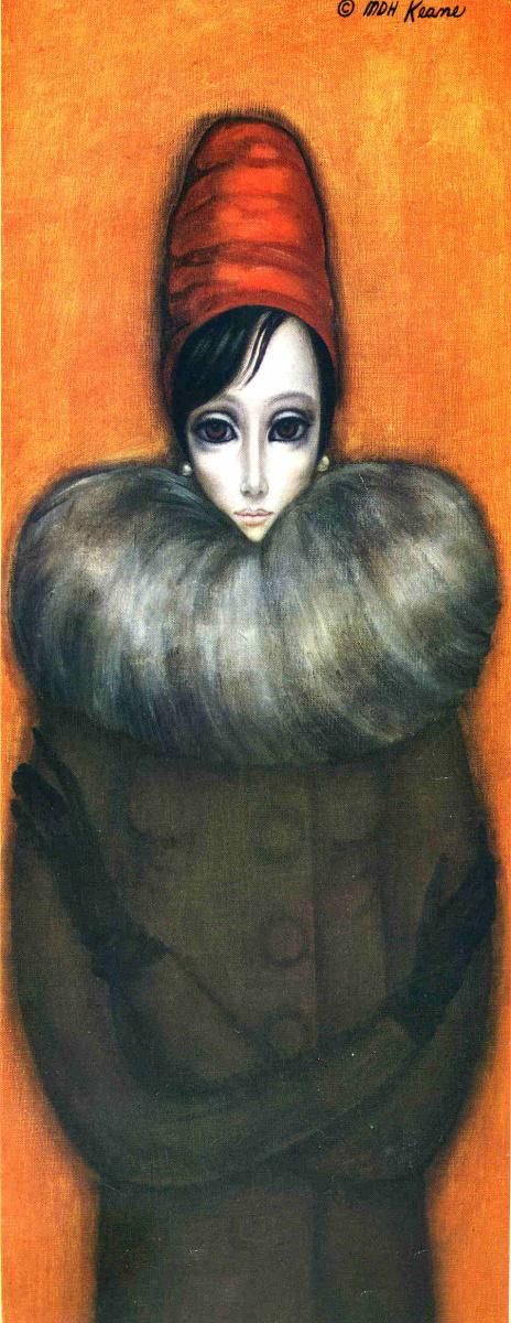 Маргарет Кин. Женщина в пальто