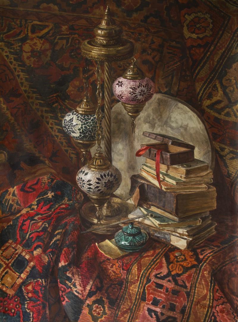 Elizaveta Andriyaka. Oriental still life