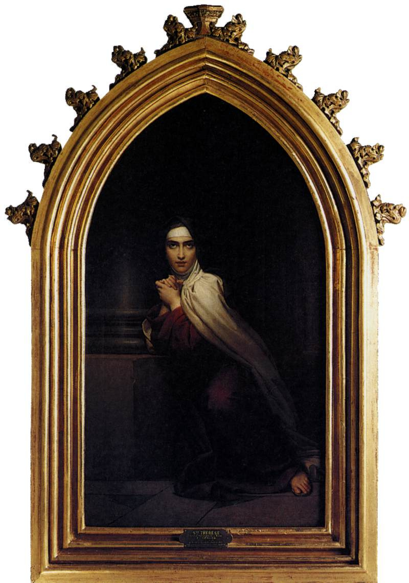 Francois Pascal Simon Gerard. Saint Teresa