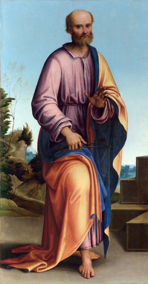 Лоренцо Коста. Святой Петр