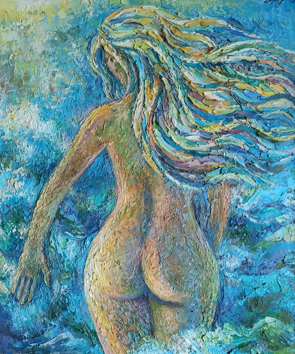 Irina Gubarevich. Summer. Nude