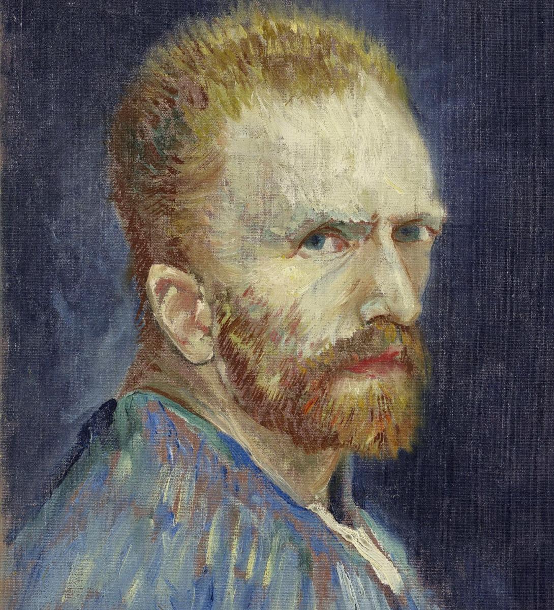 Винсент Ван Гог. Автопортрет (вариант 1887 года)