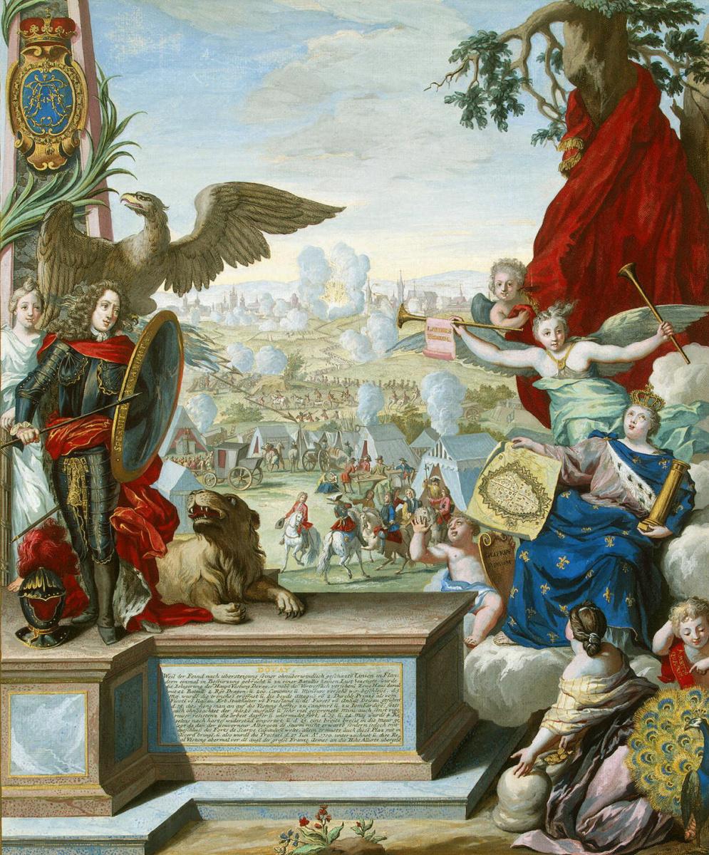 Жозеф де Монталегре. Сдача войскам союзников крепости