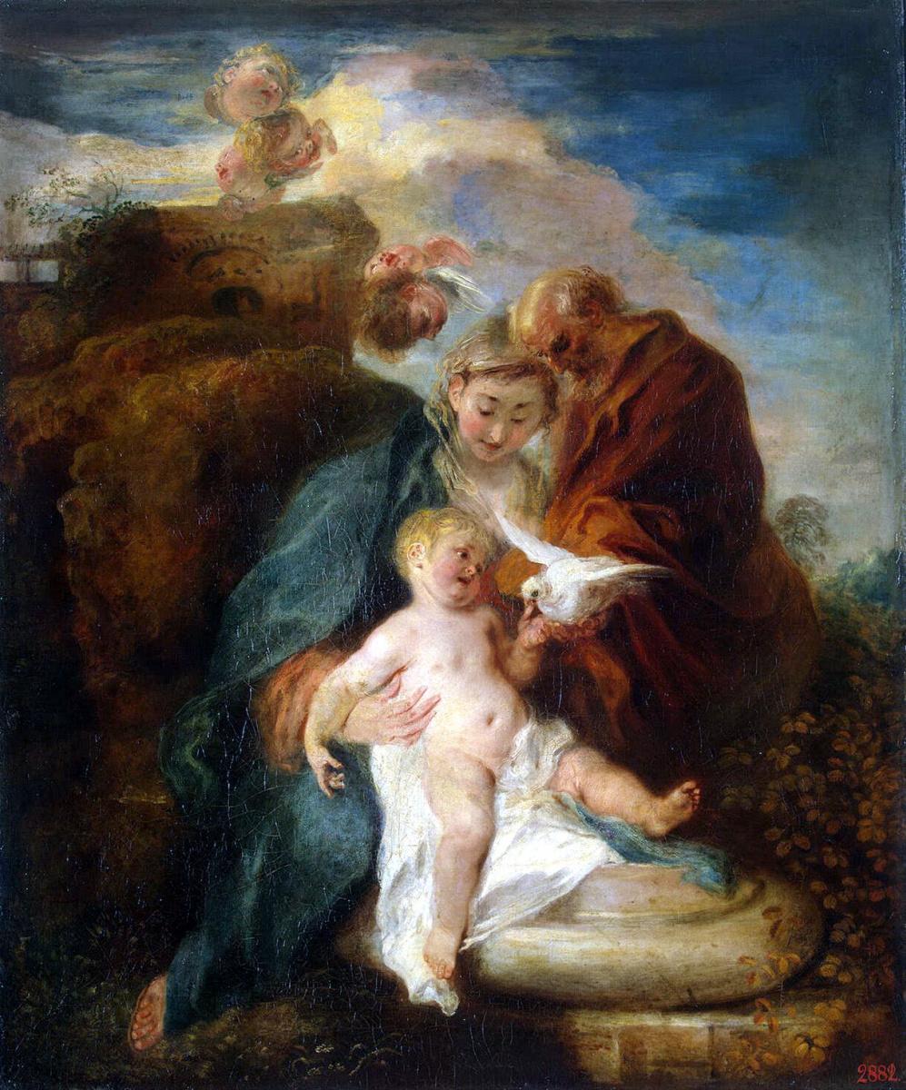 Антуан Ватто. Святое Семейство