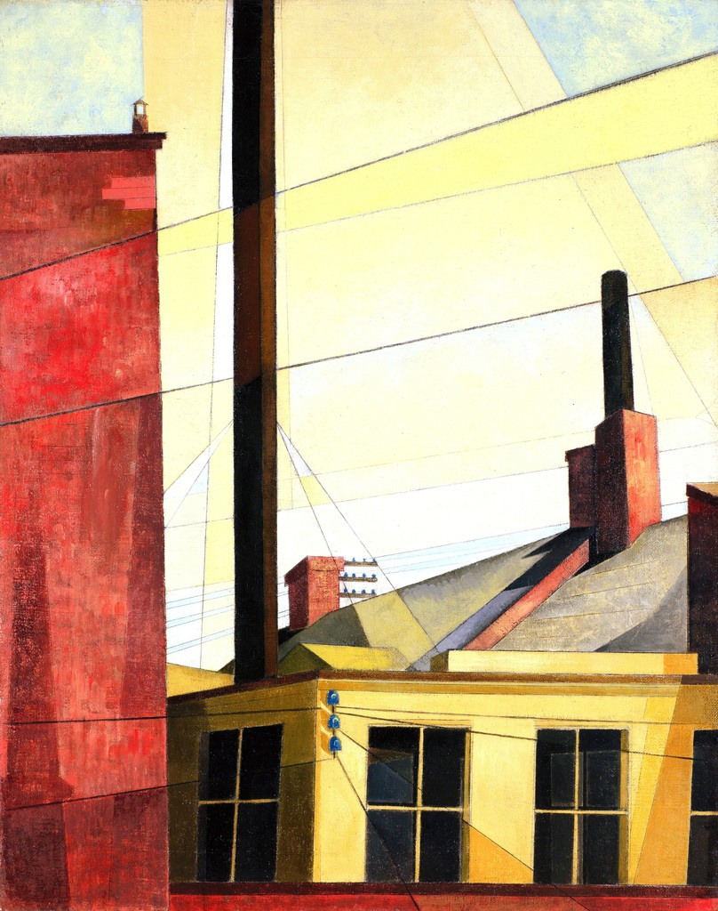 Charles Demuth. From the Chateau Garden