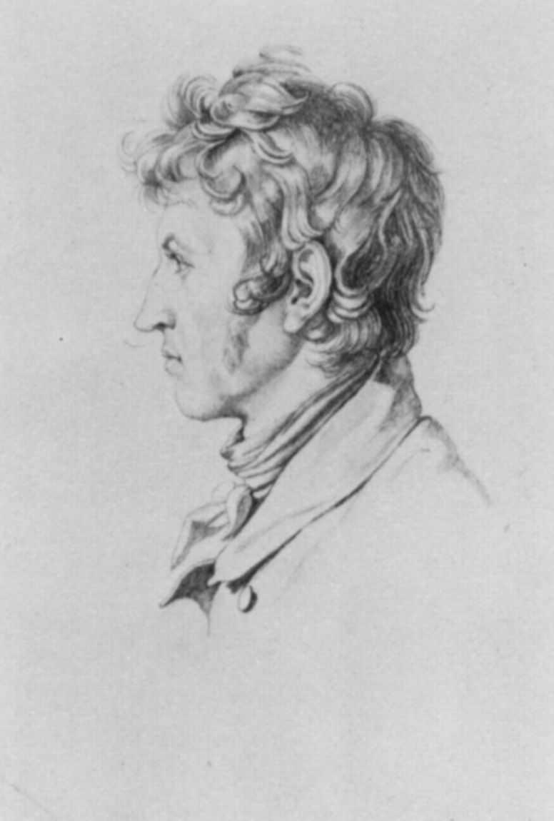 Gustav Heinrich Neke. Portrait Of Heinrich Reinhold