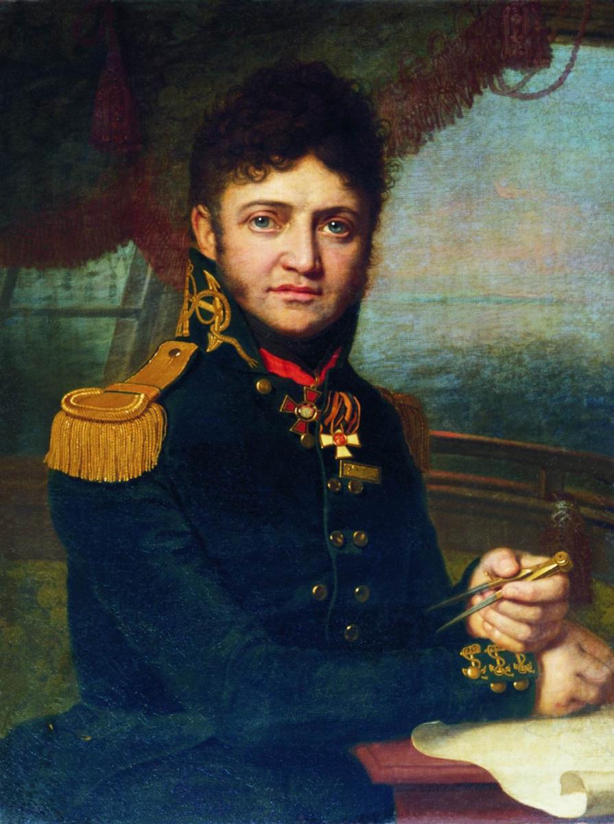Владимир Лукич Боровиковский. Портрет Лисянского.