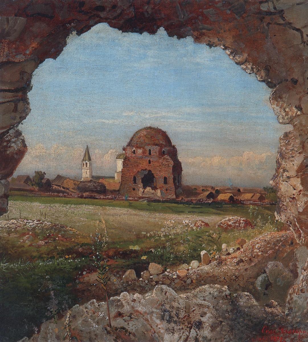 Алексей Кондратьевич Саврасов. Село Болгары