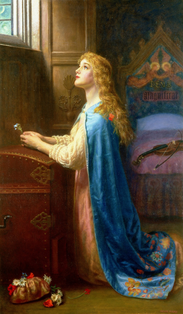 Arthur Hughes. Don't forget about me