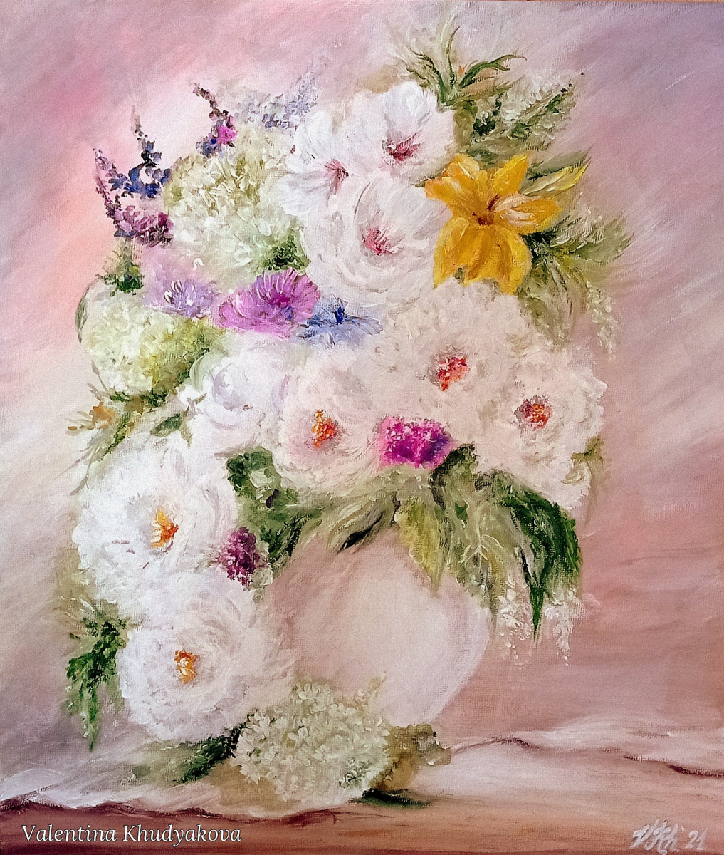 Valentina Khudyakova. Morning bouquet
